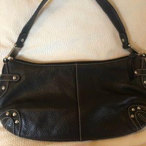 Sak Sakroots small black leather handbag
